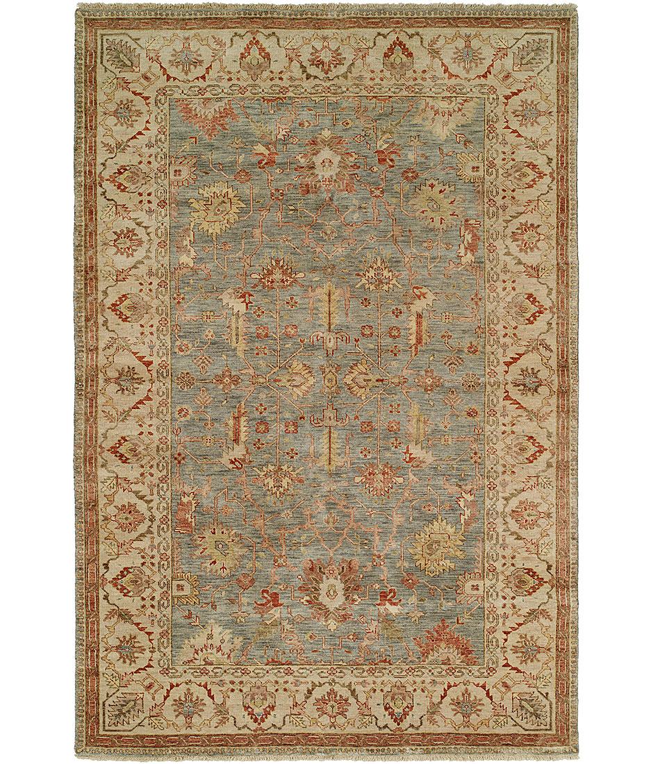 Newburry collection design ch 9 lt blue ivory hri for International decor rugs