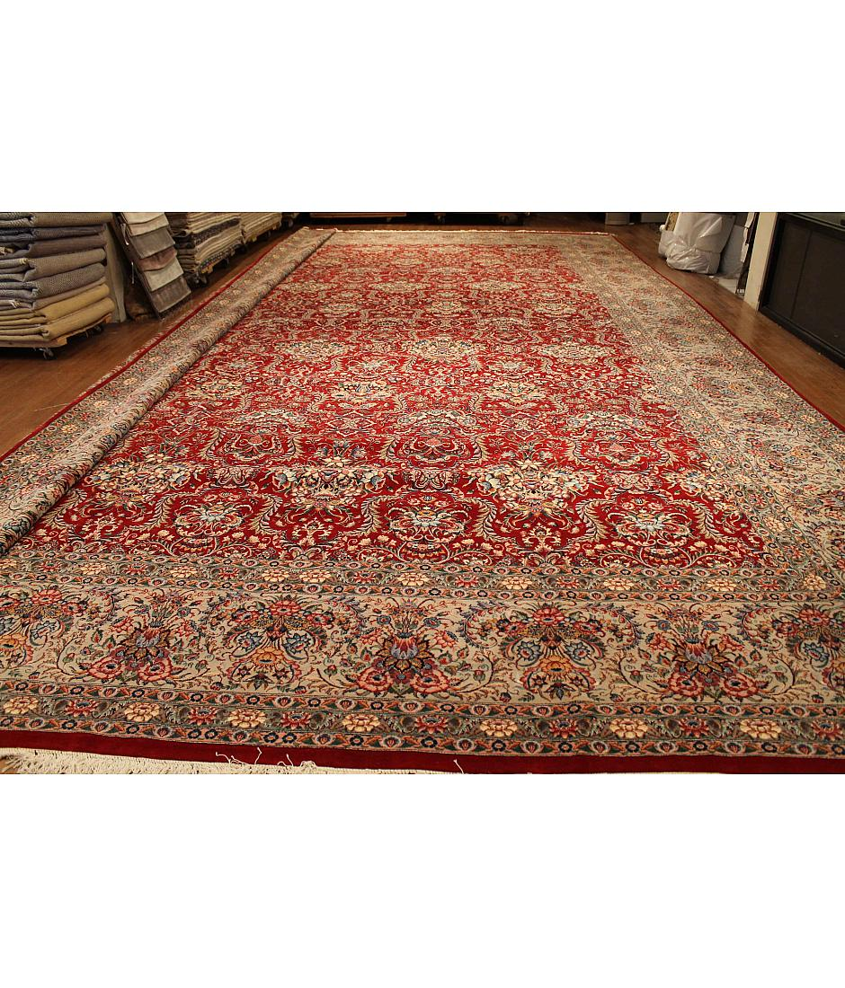 One of a kind collection design pakper 228356 red for International decor rugs