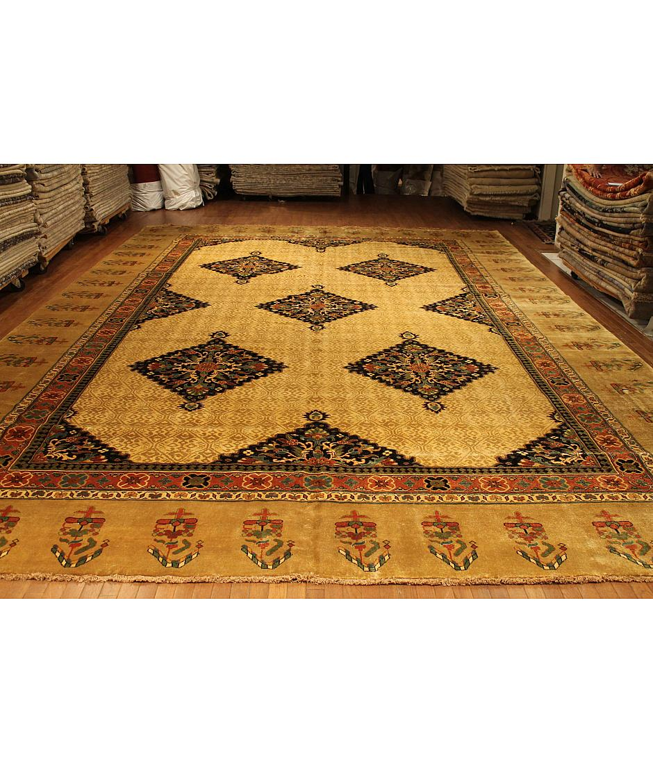 One of a kind collection design malayer 326646 beige for International decor rugs