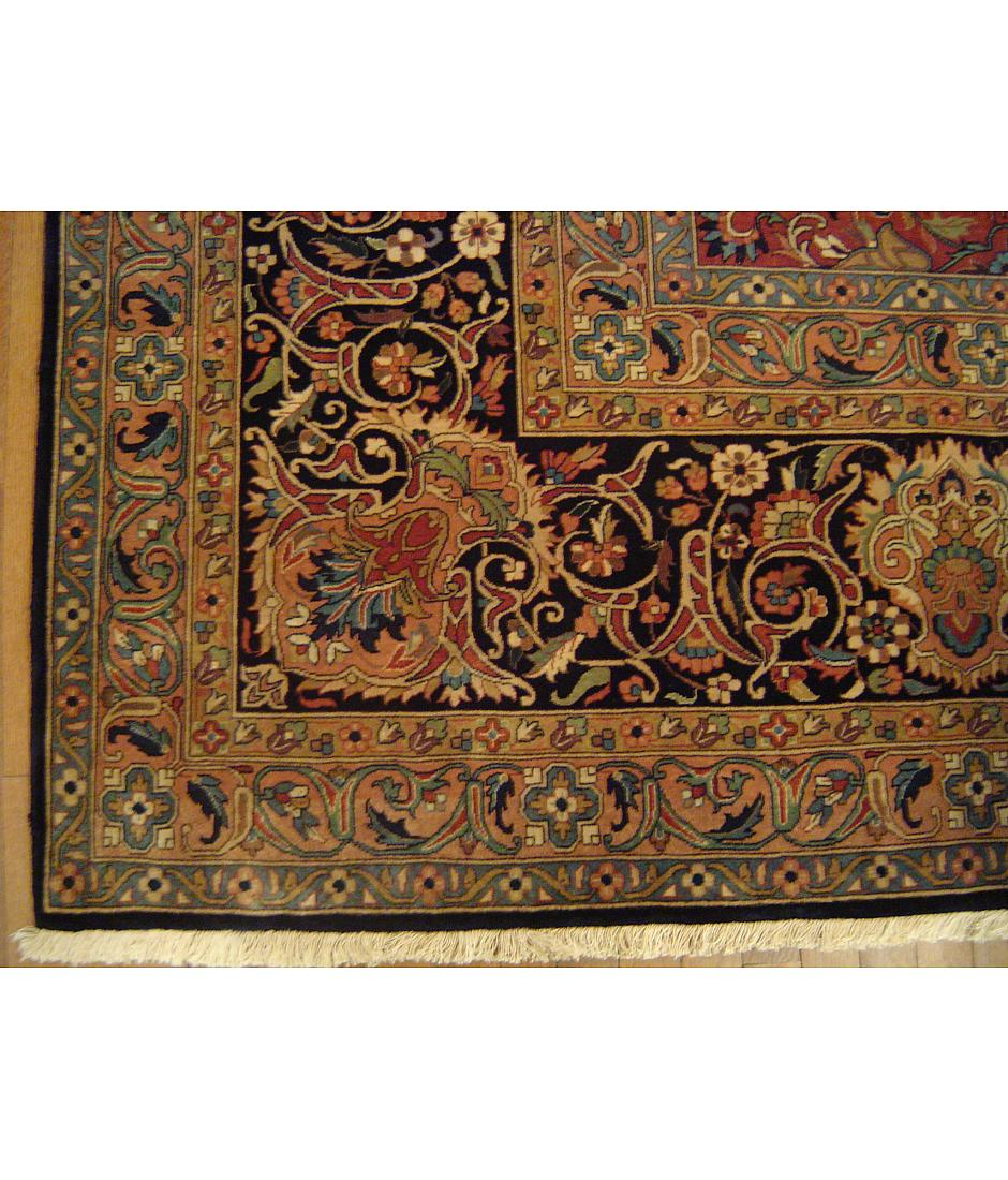 One of a kind collection design royal 352518 blue for International decor rugs