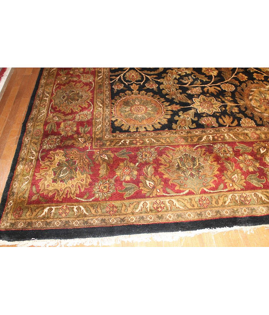 One of a kind collection design jaipur 407715 black for International decor rugs