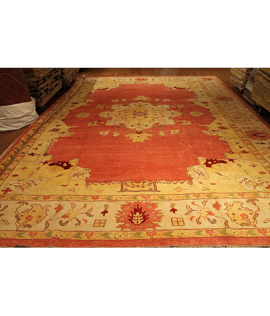 One of a kind collection design oushak 431979 rose for International decor rugs