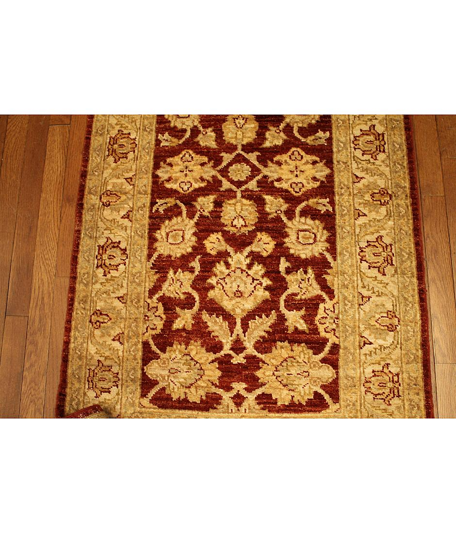 One of a kind collection design peshawar 494170 rust for International decor rugs