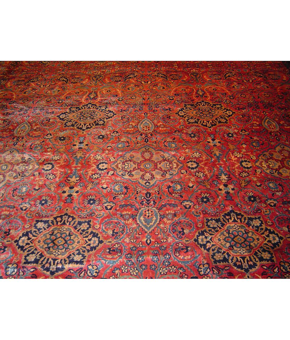 One of a kind collection design lorestani l0024 red for International decor rugs