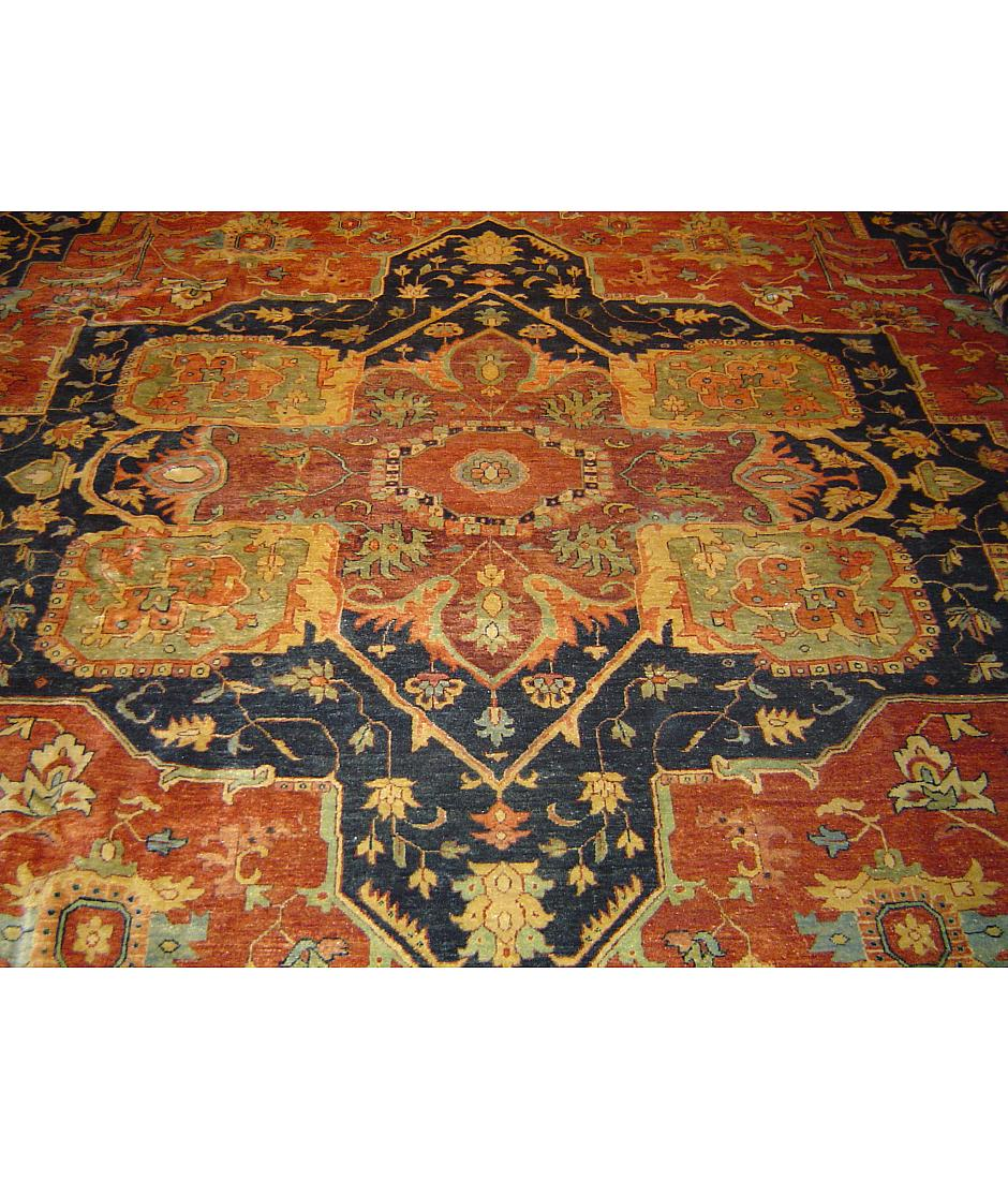 One of a kind collection design supreme 445702 red for International decor rugs